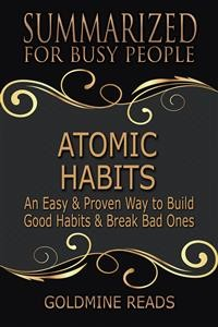 Cover Atomic Habits - Summarized for Busy People