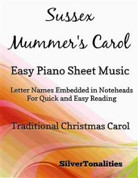Cover Sussex Mummer's Carol Easy Piano Sheet Music
