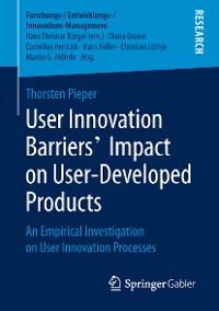 Cover User Innovation Barriers' Impact on User-Developed Products