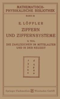 Cover Ziffern und Ziffernsysteme