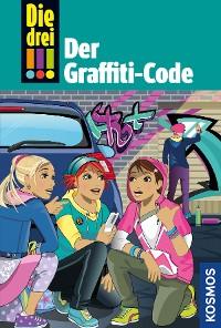 Cover Die drei !!!, 64, Der Graffiti-Code (drei Ausrufezeichen)