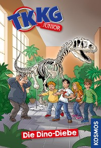 Cover TKKG Junior, 8, Die Dino-Diebe