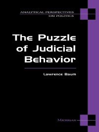 Cover Puzzle of Judicial Behavior