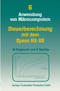 Cover Steuerberechnung mit dem Epson HX-20