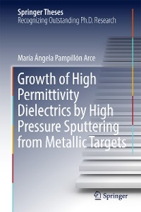 Cover Growth of High Permittivity Dielectrics by High Pressure Sputtering from Metallic Targets