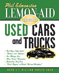 Cover Lemon-Aid Used Cars and Trucks 2012-2013