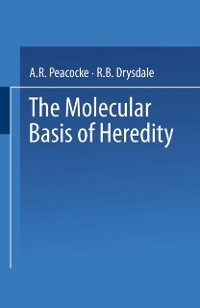 Cover Molecular Basis of Heredity