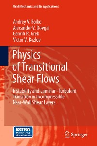 Cover Physics of Transitional Shear Flows