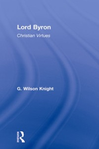 Cover Lord Byron - Wilson Knight  V1