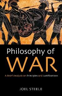Cover Philosophy of War