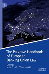Cover The Palgrave Handbook of European Banking Union Law