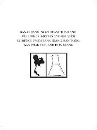 Cover Ban Chiang, Northeast Thailand, Volume 2B