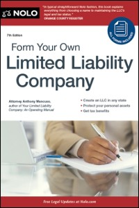 Cover Form Your Own Limited Liability Company