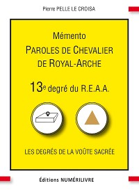 Cover Mémento 13e degré du R.E.A.A.