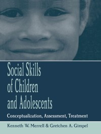 Cover Social Skills of Children and Adolescents