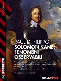 Cover Solomon Kane: Fenomeni osservabili