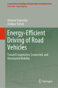 Cover Energy-Efficient Driving of Road Vehicles