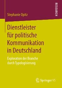 Cover Dienstleister für politische Kommunikation in Deutschland
