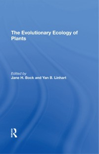 Cover Evolutionary Ecology Of Plants