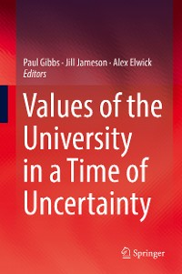 Cover Values of the University in a Time of Uncertainty