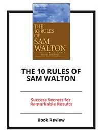 Cover The 10 Rules of Sam Walton