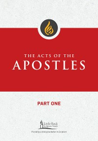 Cover The Acts of the Apostles, Part One