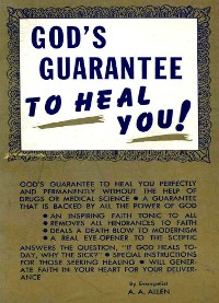 Cover God's Guarantee to Heal You