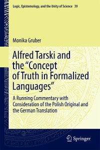 "Cover Alfred Tarski and the ""Concept of Truth in Formalized Languages"""