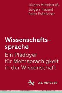 Cover Wissenschaftssprache - Ein Plädoyer für Mehrsprachigkeit in der Wissenschaft
