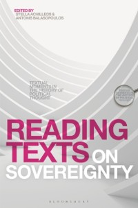 Cover Reading Texts on Sovereignty