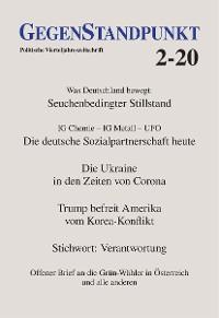 Cover GegenStandpunkt 2-20