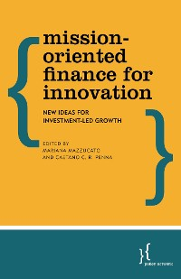 Cover Mission-Oriented Finance for Innovation