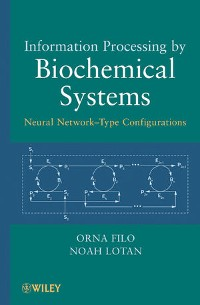 Cover Information Processing by Biochemical Systems