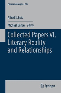 Cover Collected Papers VI. Literary Reality and Relationships