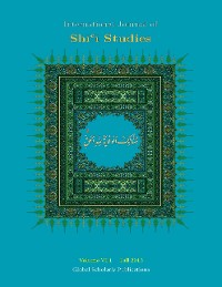 Cover International Journal of Shi'i Studies