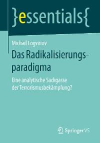 Cover Das Radikalisierungsparadigma