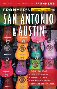 Cover Frommer's EasyGuide to San Antonio and Austin