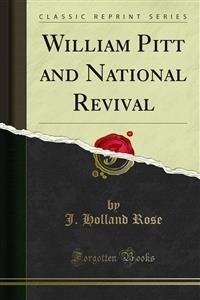 Cover William Pitt and National Revival