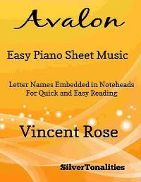 Cover Avalon Easy Piano Sheet Music
