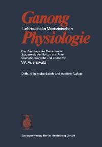 Cover Lehrbuch der Medizinischen Physiologie