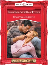 Cover Stormbound With A Tycoon (Mills & Boon Desire)