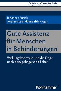 Cover Gute Assistenz für Menschen in Behinderungen