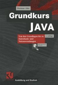 Cover Grundkurs JAVA