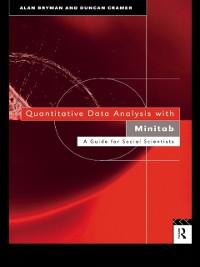 Cover Quantitative Data Analysis with Minitab