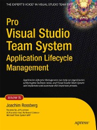 Cover Pro Visual Studio Team System Application Lifecycle Management
