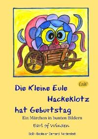 Cover Die kleine Eule Hackeklotz hat Geburtstag