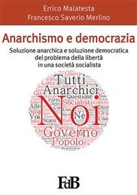 Cover Anarchismo e democrazia