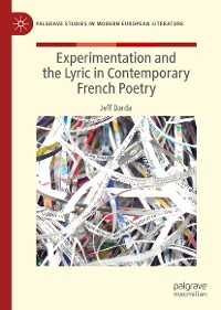 Cover Experimentation and the Lyric in Contemporary French Poetry