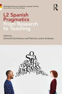 Cover L2 Spanish Pragmatics