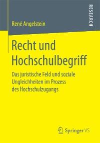 Cover Recht und Hochschulbegriff